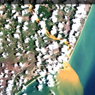 Imagem Landsat completa carregada