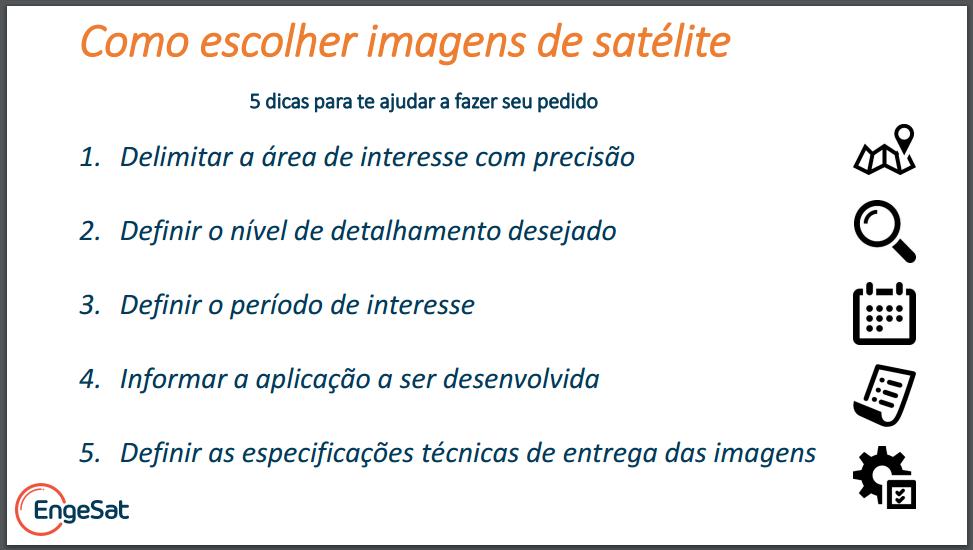 5 dicas para escolher imagens de satélites final