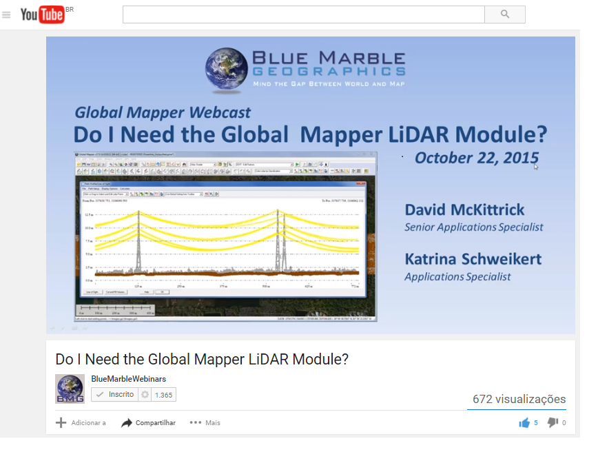 Do I need the Global Mapper Lidar Module 2