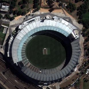 Área de estadio resultante de processamento com o FuzeGo
