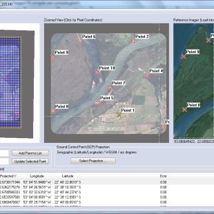 Correção geométrica de imagens de satélites de altíssima resolução no Global Mapper