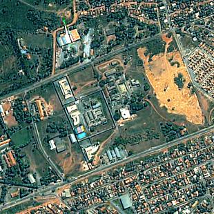 Kompsat 2, PSM, 1 m de resolução, área urbana de Cuiabá - MT