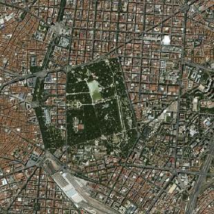Madrid, Espanha,  imageada pelo KazEOSat-1