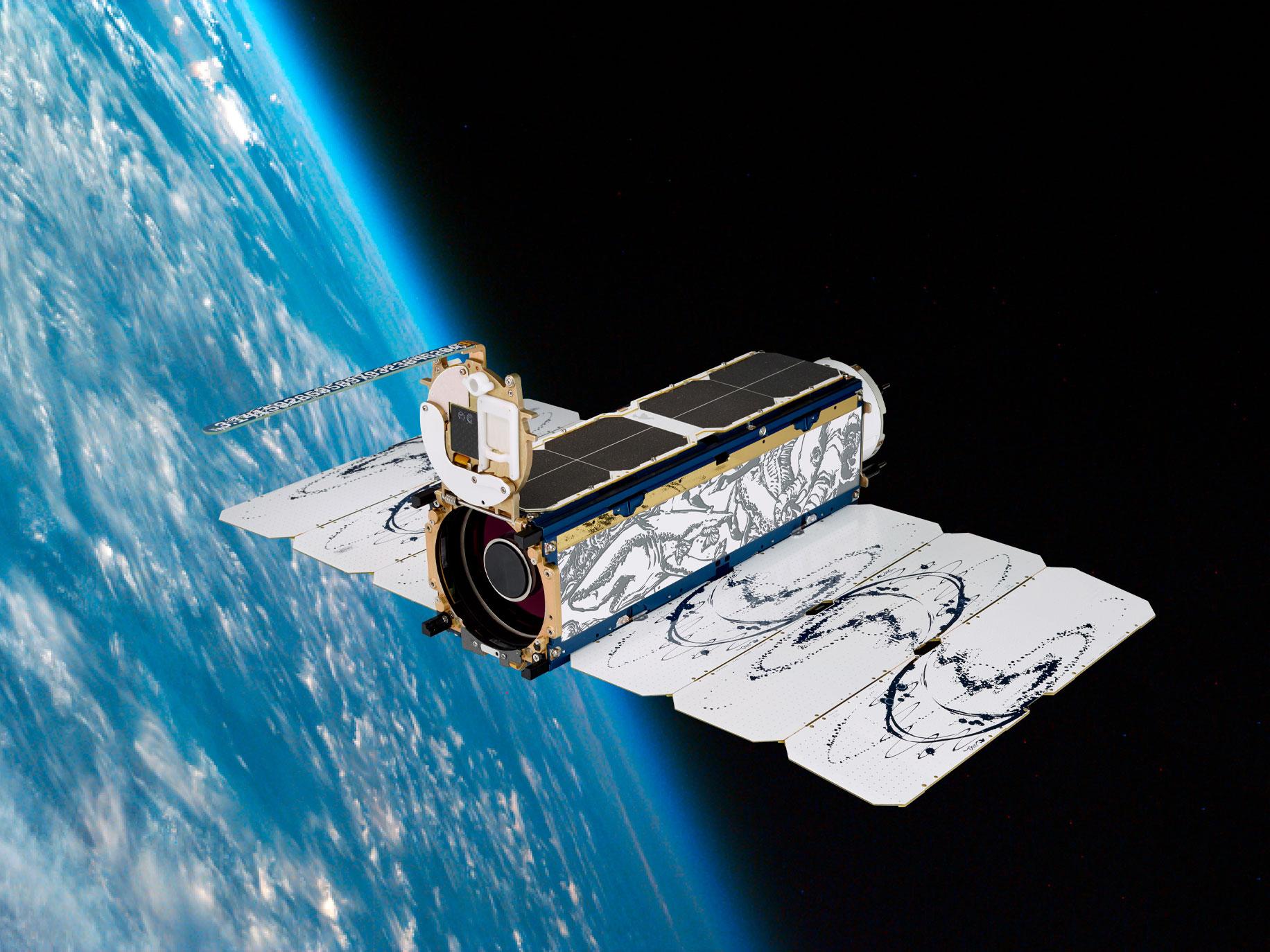Planet Satellite
