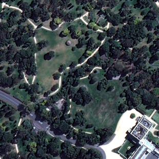 Área de um parque resultante de processamento com o FuzeGo