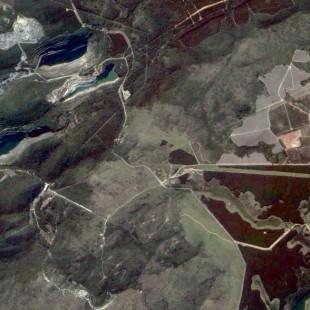 TH-1PSM de 2 m de reolução de área floretal, industrial e de mineração de Sorocaba - SP