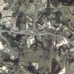 TH-1PSM de 2 m de reolução de rodovias em Sorocaba - SP