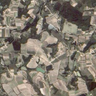 TH-1PSM de 2 m de reolução de área rural de Sorocaba - SP