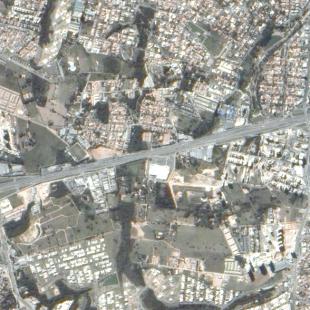 TH-1PSM de 2 m de reolução de área urbana de Sorocaba - SP