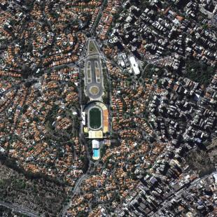 Kompsat-3, PSM, 0,70 m, Estadio do Pacaembu, São Paulo, SP.