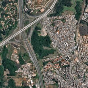 SPOT 6 PSM 1,50 m colorido de São Paulo, SP