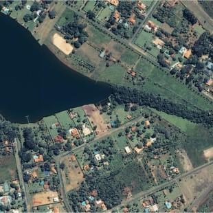 Ikonos PSM, 1 m de resolução, área residencial de Brasilia - DF