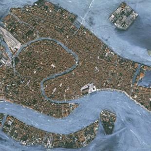 Veneza, Itália,  imageado pelo KazEOSat-1