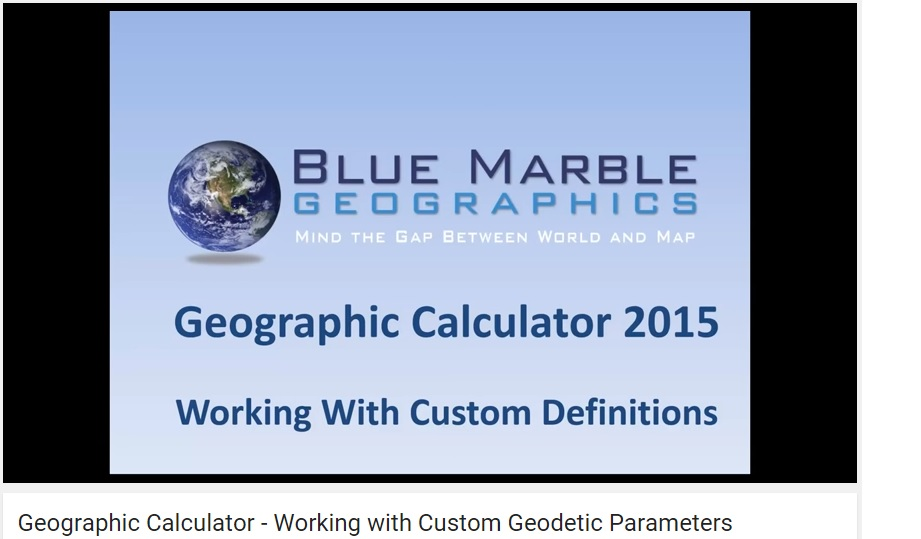 Video GEOCALC 15-12-15